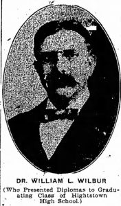 Dr. William L. Wilbur circa 1915