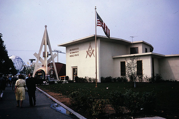 The Masonic Brotherhood Center at the 1964 New York World's Fair