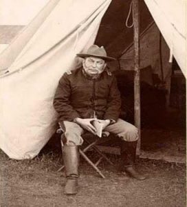 Dr. Clarence M. Slack during the Spanish-American War